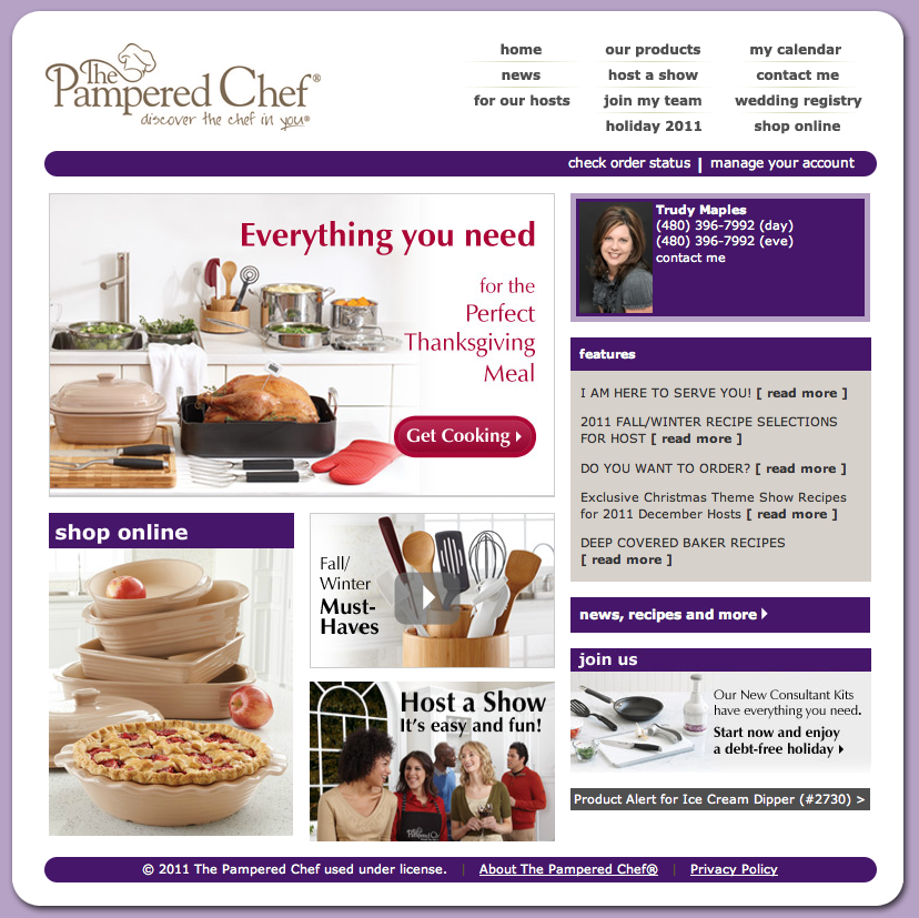 Pampered Chef – Inspiring Health & Wellness with Trudy Maples